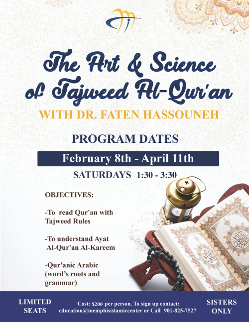The Art & Science of Tajweed Al-Quran