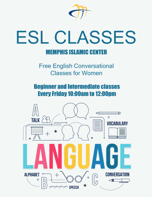 ESL Free English Conversational Classes for Women