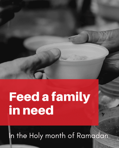 Feed a family in need